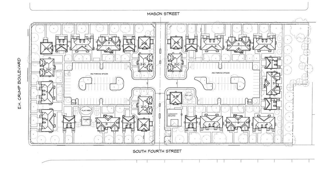 An overview of the planned Mason Village project. - CHURCH OF GOD IN CHRIST