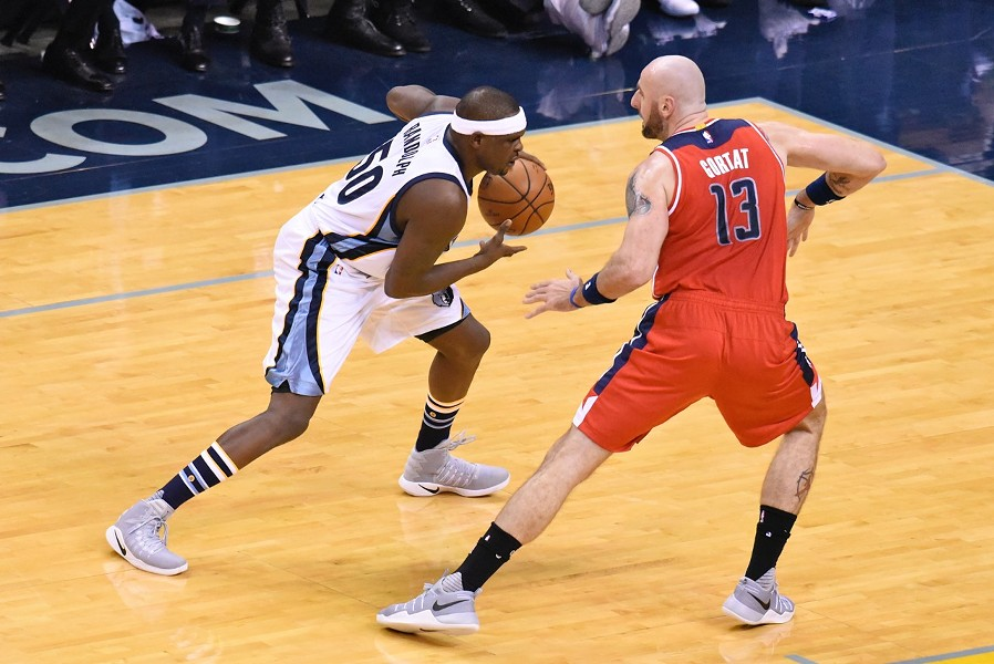 Zach Randolph was a force of nature on offense, but struggled at the other end. - LARRY KUZNIEWSKI
