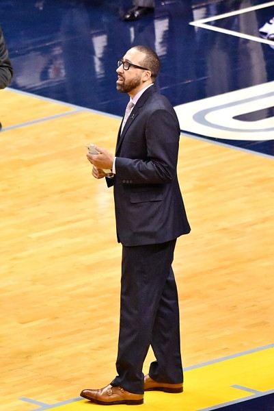 David Fizdale still hasn't figured out his healthy rotation. - LARRY KUZNIEWSKI