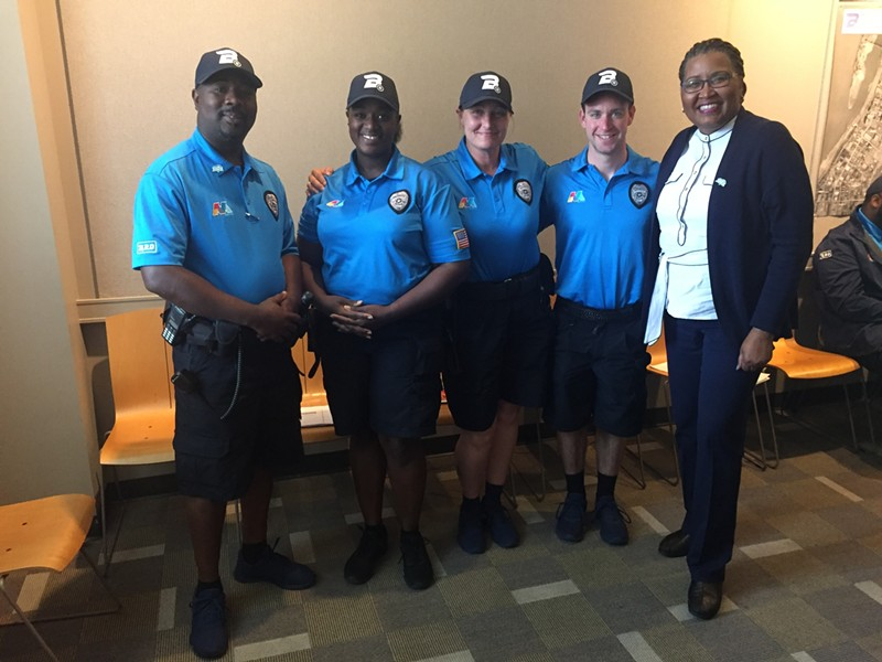 Members of the Blue Suede Brigade 2.0. - TOBY SELLS