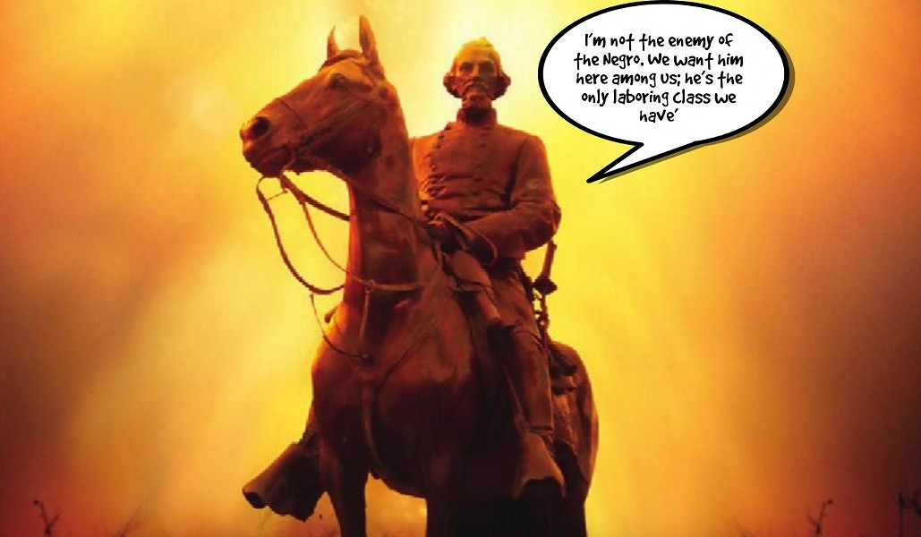 Nathan Bedford Forrest.  Civil Rights Hero. According to Andy Holt.