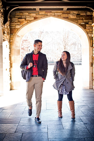 DACA students at Rhodes College - JUSTIN FOX BURKS