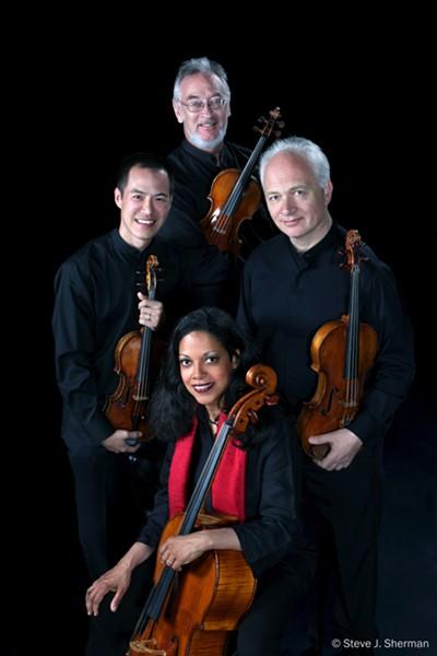 Juilliard String Quartet - STEVE J. SHERMAN
