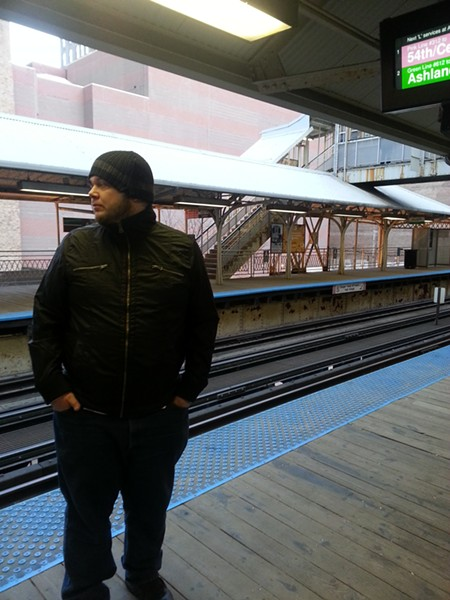 "J.D. Ponders Where the ""L"" to Go in Chicago"