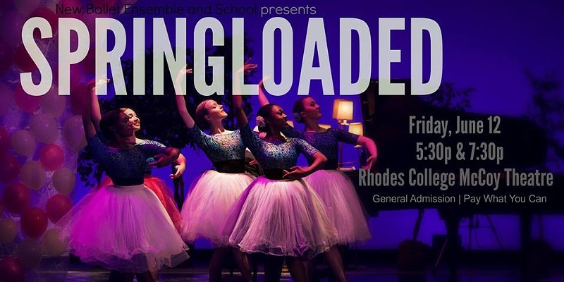 New Ballet Ensemble Starts the Summer with Springloaded
