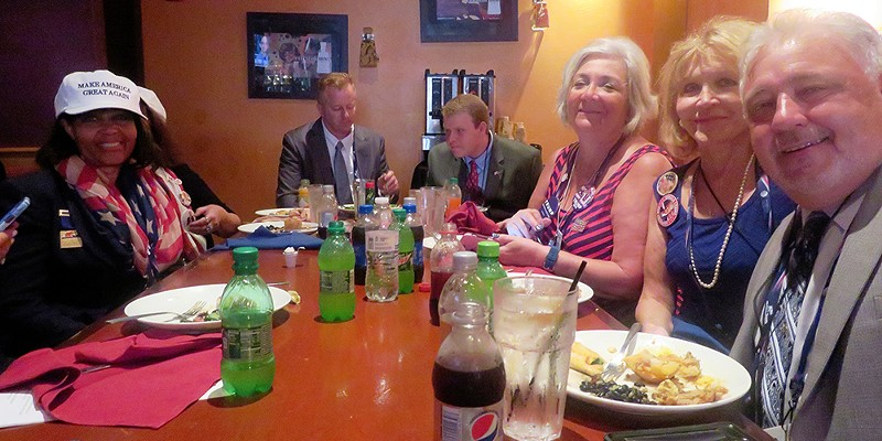 Take Two: the 2016 Conventions Some Tennesseans gathered for brunch on first day at Cleveland JB