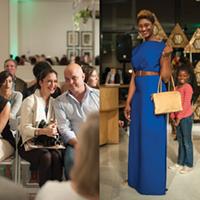 Memphis Fashion Week EMDP Show Highlights Left: Augusta Campbell (EMDP judge) and Bill Stearnes.