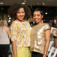 Memphis Fashion Week EMDP Show Highlights Kamesha Hervey Richard and Andrea Fenise (EMDP designer)