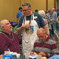 Pics from TEP Gumbo Contest 2017 Jonathan Cole, TEA Chair and President Chats With Attendees JB