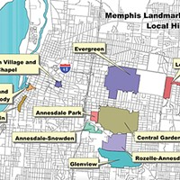 Historic districts in Memphis