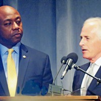 Senators Tim Scott and Bob Corker at Lincoln Day