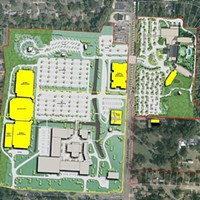 Layout of proposed expansion plan