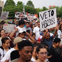 Recent rally against the bill in Nashville