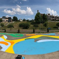 Tom Lee Park to House Pop-Up Recreational Space