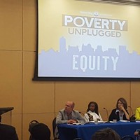 Panelists featured in the series' first installment on equity
