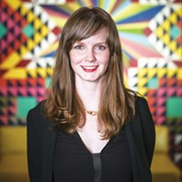 Lauren Kennedy, executive director of the UrbanArt Commission