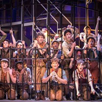 Newsies at Theatre Memphis.