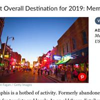 Memphis Tops TripSavvy's Travel Ranking