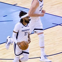 The Grizzlies' dynamic duo.