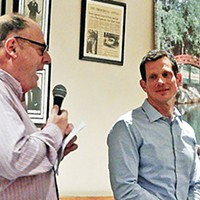 Mackler, Coleman Show Their Stuff to Local Democrats