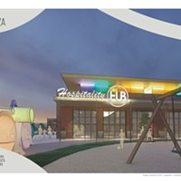 Rendering of planned facility