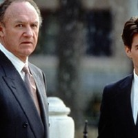 Gene Hackman and Tom Cruise in The Firm.