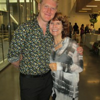 Steven McMahon and Dorothy Gunther Pugh at grand opening of new Ballet Memphis headquarters.