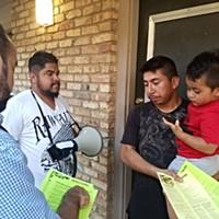 Latino Memphis members distribute immigration information