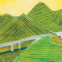 """Local Artist's Travels Find Expression with """"Place Shapes"""" at the Dixon"""