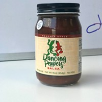 Look for Memphis-made Dancing Peppers salsa (formerly Rojo Gold) at Kroger, Miss Cordelia's, Cash Saver, and more.