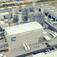 TVA's new natural-gas-fueled Combined Cycle Plant.