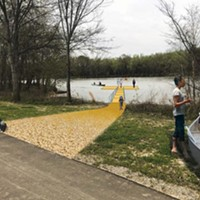 Rendering of proposed boat dock