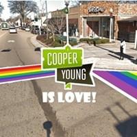 Rainbow Crosswalk Comes to Cooper-Young Saturday