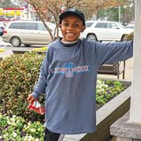 Youngest volunteer, Ian