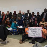 A recent TIRRC event supporting refugee resettlement