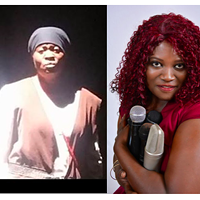 Murray as Tubman, left, and in a promo photo, right.