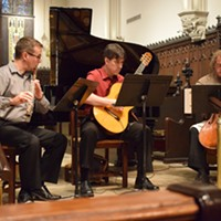 Performance at the Belvedere Chamber Music Festival.