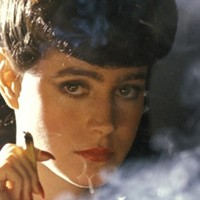 Sean Young is smoking hot as Rachel in Blade Runner.