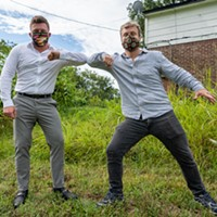 Jerred Price and Taylor Berger join forces to fight blight in downtown and uptown Memphis.