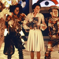 Ted Ross, Michael Jackson, Diana Ross, and Nipsey Russell in The Wiz