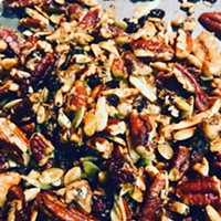 Spiced Maple Granola