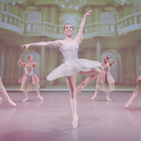 Cecily Khuner as the Dew Drop Fairy in Ballet Memphis' Nutcracker