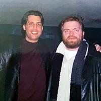 Greg Graber (left) with Chris Jarman