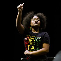 Young Stax Academy performer