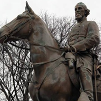 Council Committee Agrees On Relocating Forrest Statue and Remains