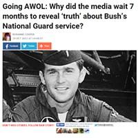 "The October 29 ""Raw Story"" Account of Bush Going AWOL, Verbatim"