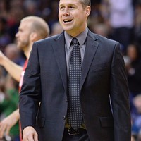 I don't have a picture of Ryan Hollins in a Griz jersey so here's Dave Joerger.