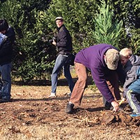 Get Off Our Lawn plants new trees at Overton Park.