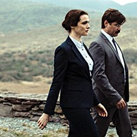Rachel Weisz and Colin Farrell aren't monkeying around with love in Lanthimos' The Lobster.