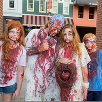 On the Scene at the 2016 Zombie Walk